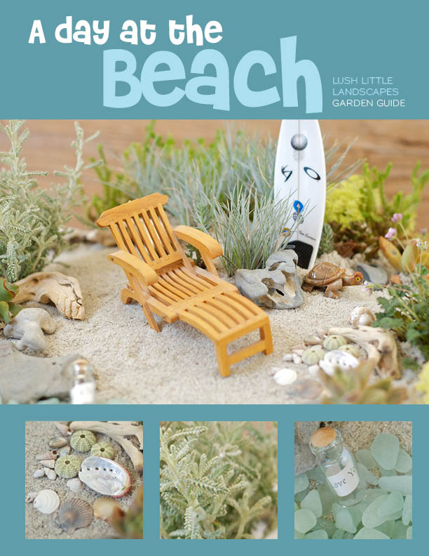 A Day At The Beach Lush Little Landscapes 171 How To Make