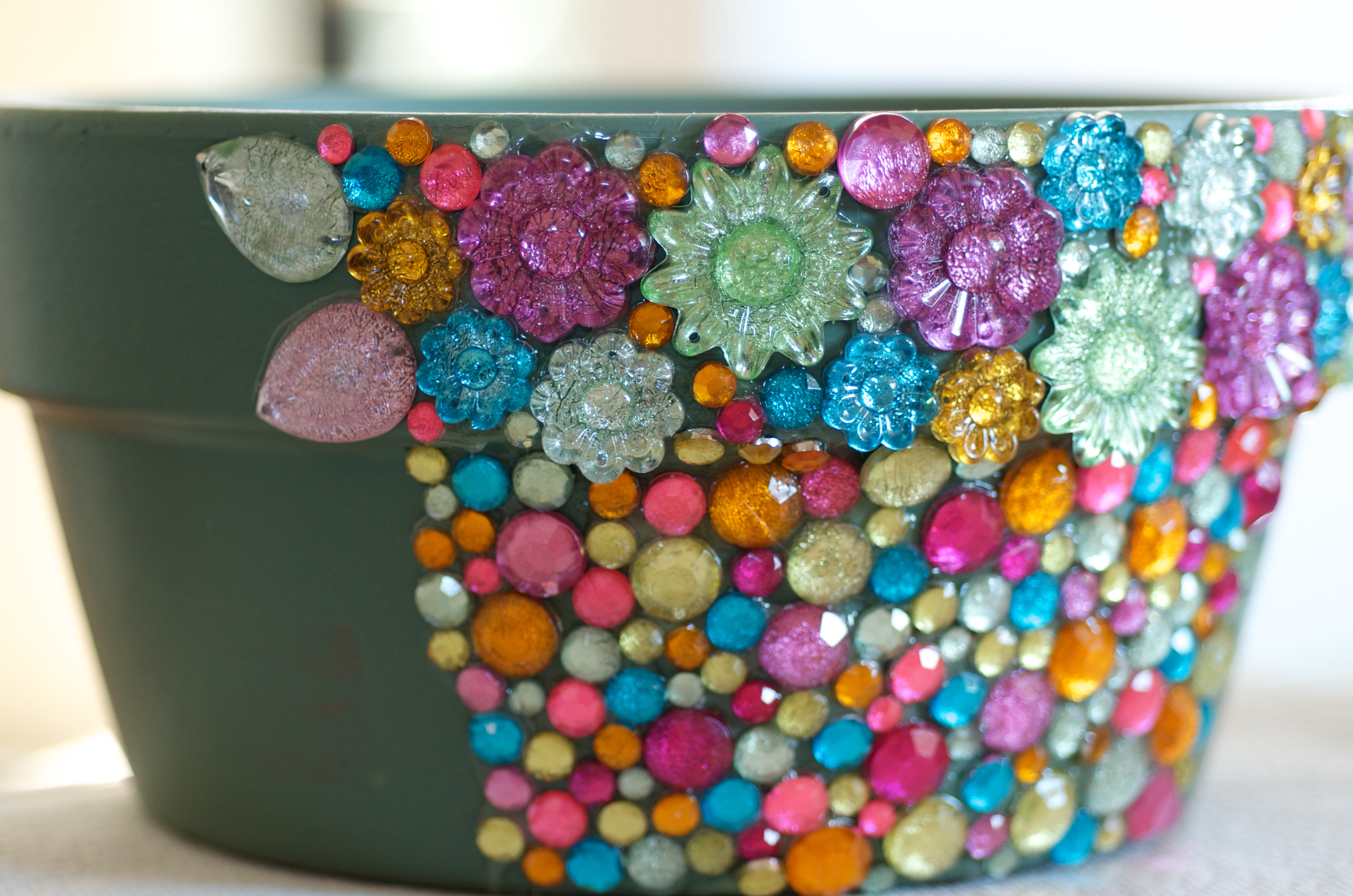Spring-Plastic-Gems-Pot-Progress-2