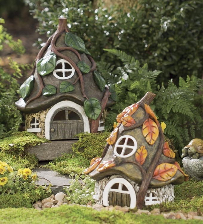 Miniature Fairy Garden Pixie House | Where to Buy Miniature and Fairy Garden Houses – Part I | Lush Little Landscapes