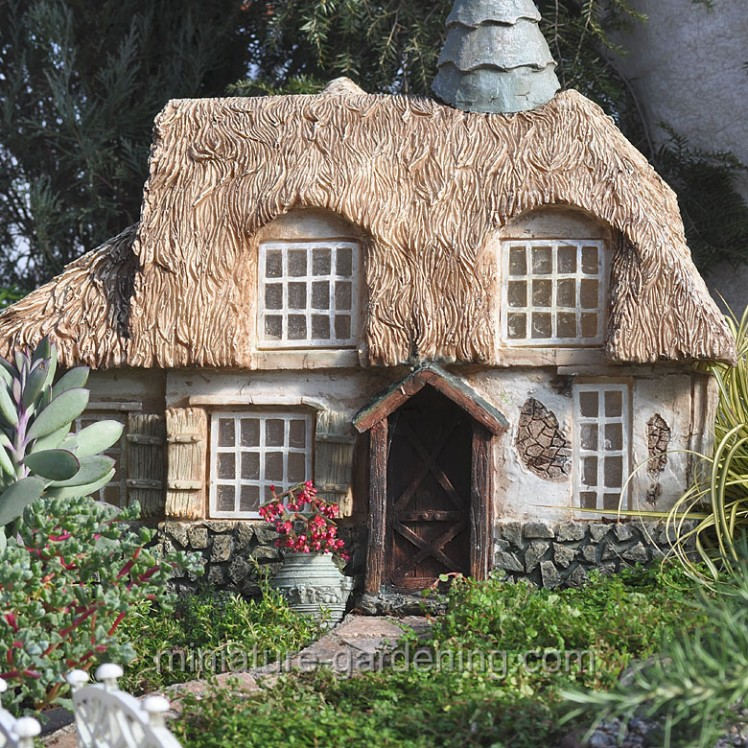 Elegant Mustardseed Cottage | Where To Buy Miniature And Fairy Garden Houses U2013 Part  I | Lush