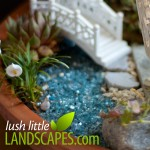 Crushed Glass Water | Lush Little Landscapes