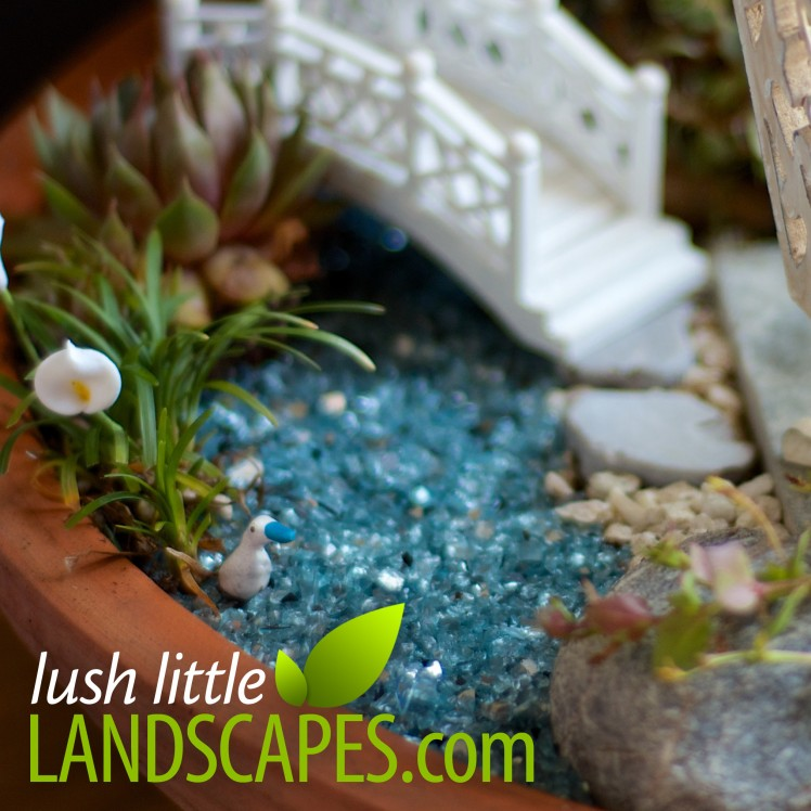 Crushed Glass Water and Aquarium Gravel | Lush Little Landscapes