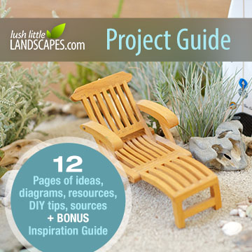 A Day at the Beach | Lush Little Landscapes Miniature Garden Project Guides